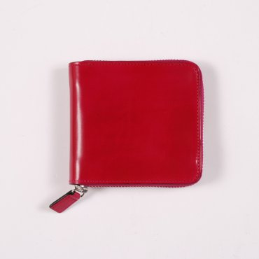 Il Bussetto Large Zip Wallet - Fuchsia